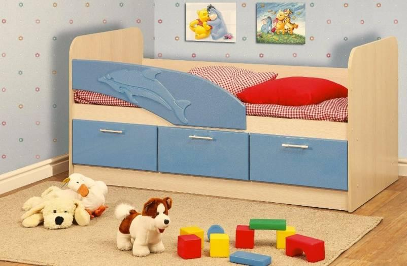 Кровать одинарная Дельфин-1