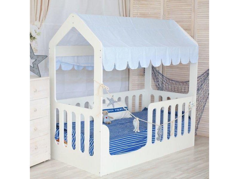 Кровать-домик из ЛДСП без ящика