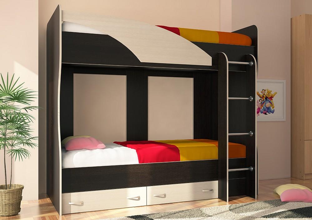 Мийа Кровать 2-х ярусная