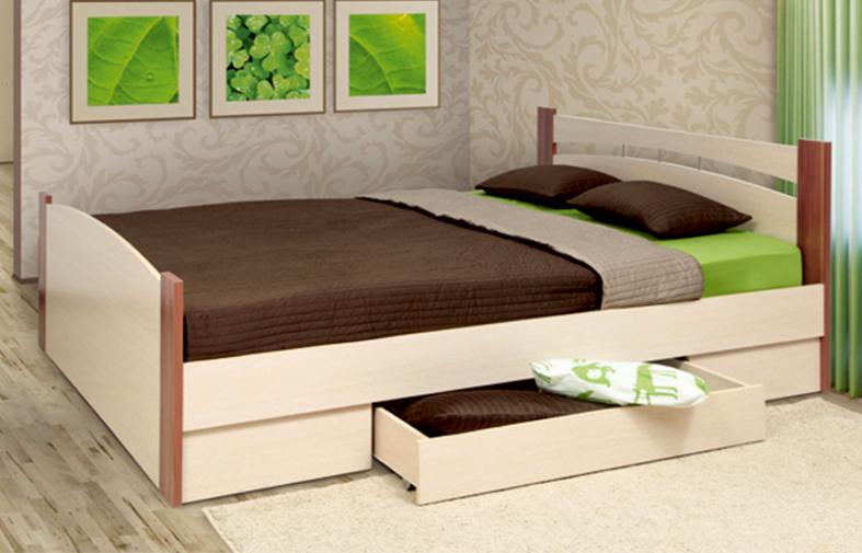 Кровать двуспальная Луна