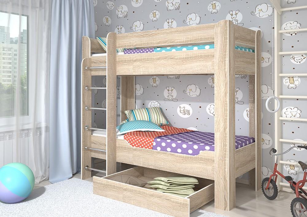 Мийа-4 Кровать 2-х ярусная