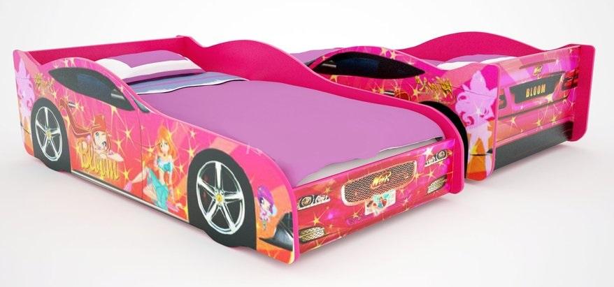 Кровать-машина Винкс