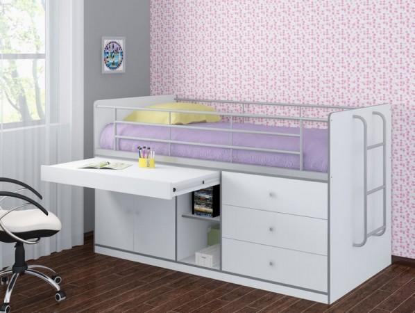 Кровать-чердак Дюймовочка-6