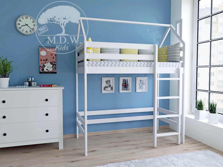 Домик кровать-чердак 1800