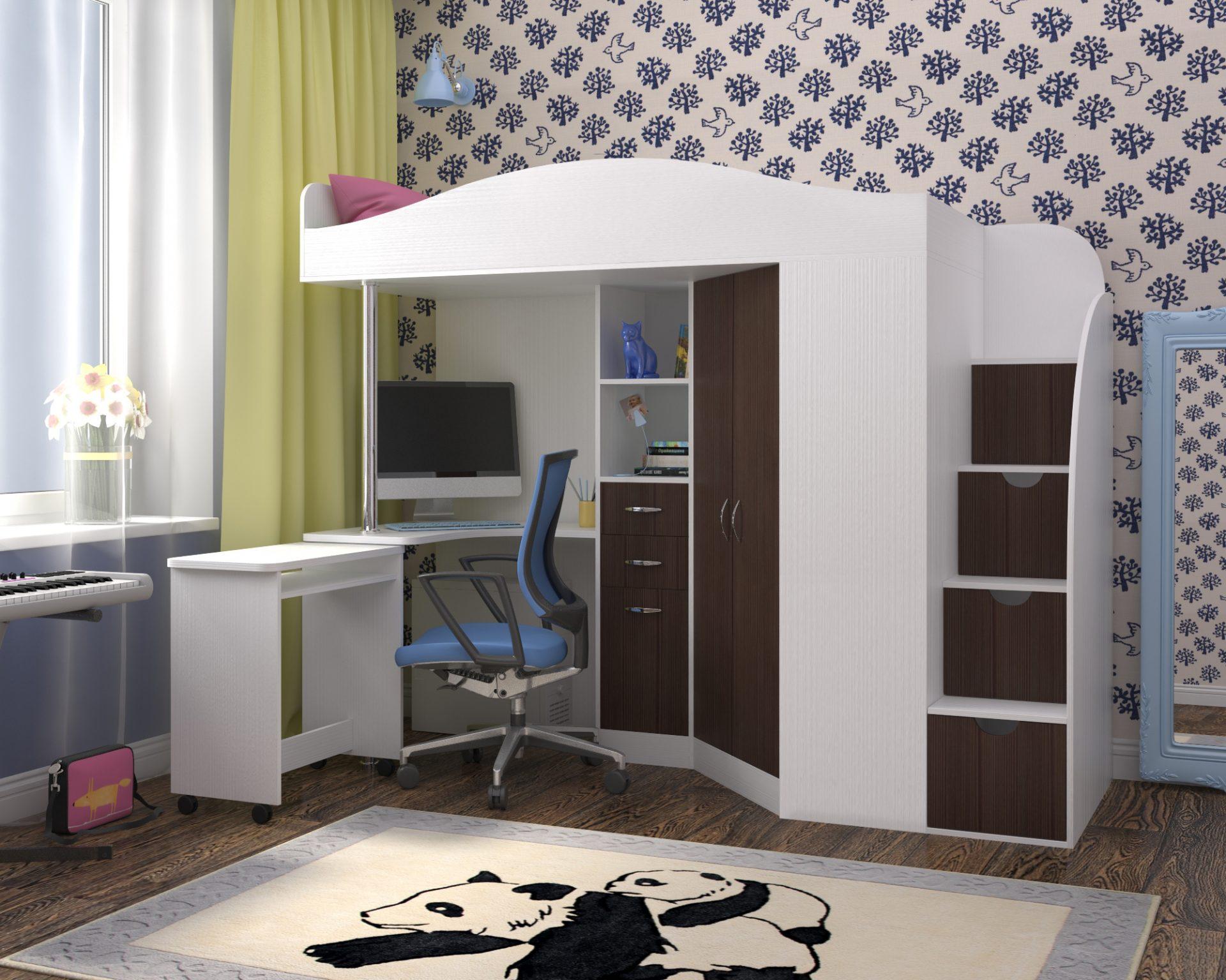 Кровать чердак Юниор 4